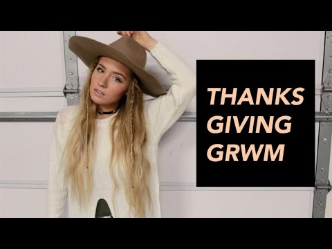 Thanksgiving GRWM | Erin Rose