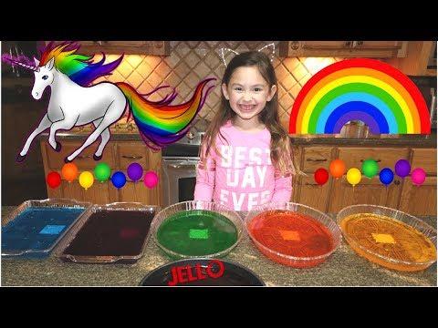 How to make Rainbow Jello- Part 1