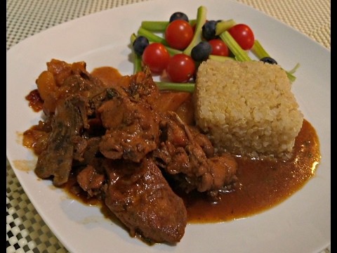 How to Make Jamaican Brown Stew Chicken