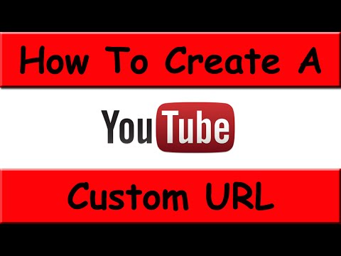 How To Change YouTube Channel URL - September 2014 (NEW LAYOUT)