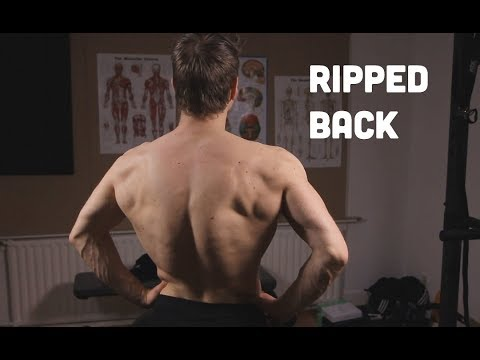 Get A Ripped Back! Weighted Calisthenics Workout