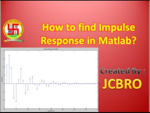 How to find the impulse response of the system ??