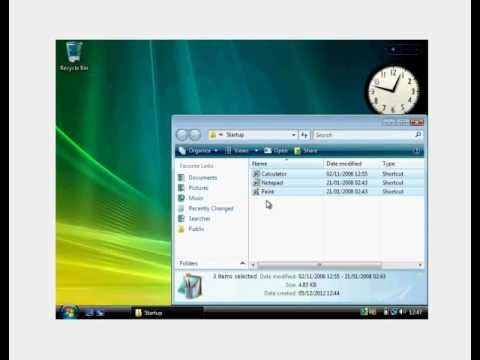 How to Automatically Open Applications on PC Startup