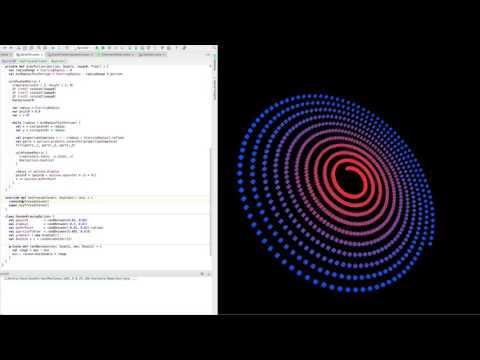 Walkthrough of 3D Spiral Drawing Program