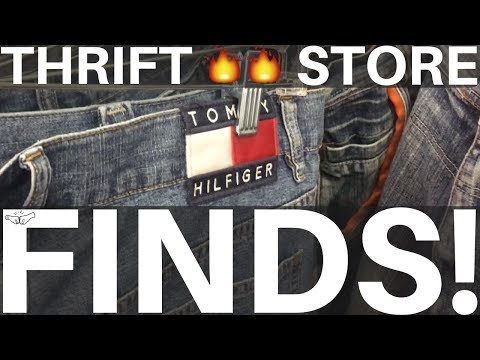 THRIFT STORE FINDS | TOMMY 🔥 | eBay Returns SUCK! New Photo Booth - RALLI ROOTS