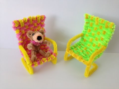 How to make a Pipe Cleaner Chair