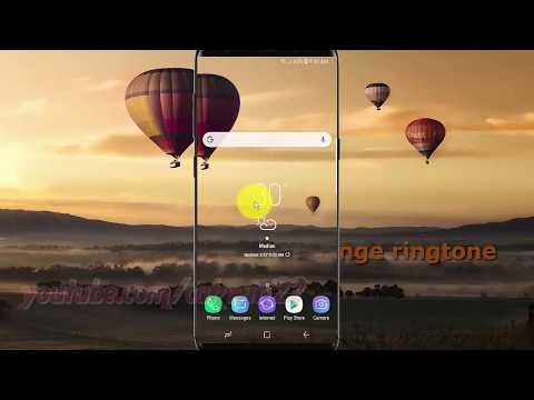 Samsung Galaxy S9 : How to Change ringtone (Android Oreo)