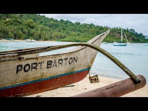 PORT BARTON, PALAWAN - Chill little backpacker beach town - Philippines Travel Vlog Ep7
