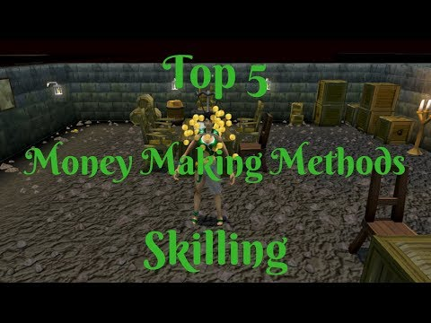Top 5 Skilling Money Making Methods- Up to 8.6M/hr- My Personal List