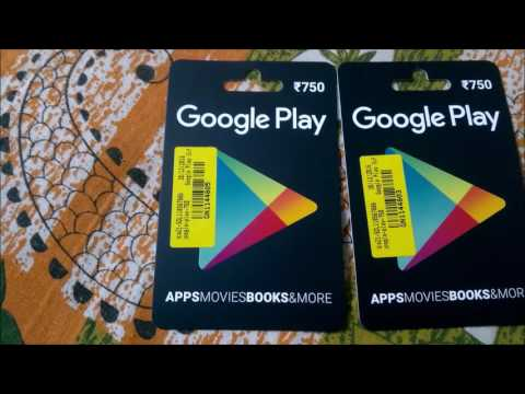 How to Use a Google Play gift card ? Buy App Without Credit Card