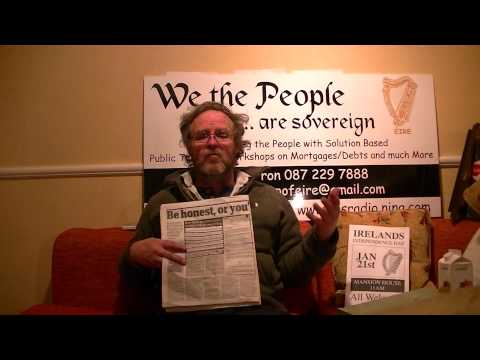 Harry from We The People on Sovereignty, Property Taxes, Water Charges and Notices Part 2 of 4