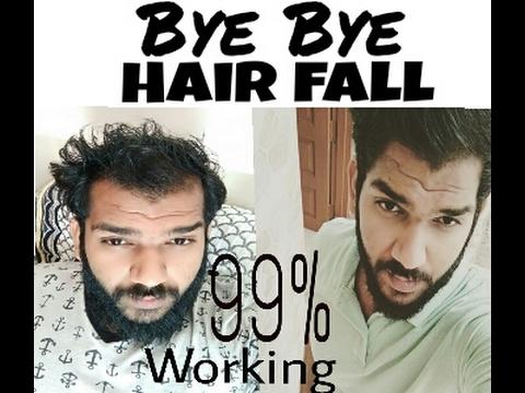 How to stop hair fall & regrow new hair in Hindi ( बालो का गिरना केसे रोके और नये बाल केसे उगाये )