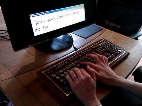 Rampkins' Buccaneer - A Steampunk Keyboard