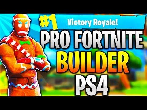 Pro Fortnite Player PS4! Level 100 | Top Builder | Fast Builder | 15k+ Kills! (TOP CONSOLE BUILDER)