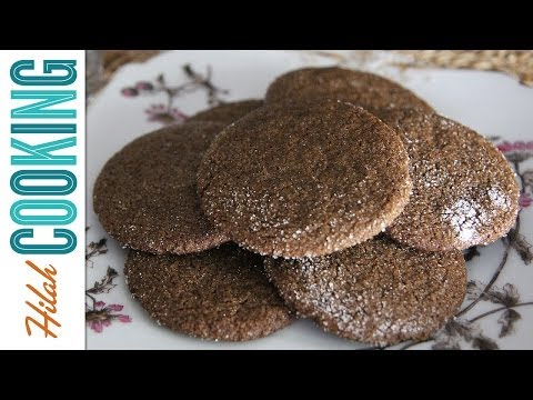 How to Make Ginger Snap Cookies | Hilah Cooking