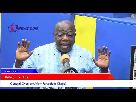 I WILL LEAVE GHANA IF NANA ADDO COULD NOT FIGHT CORRUPTION-BISHOP J Y ADU