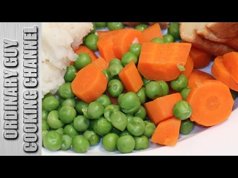Easy Peas and Carrots | #Vegetarian #Food #Recipe | Ordinary Guy Cooking Channel