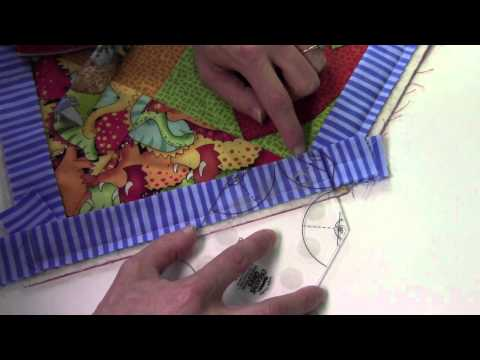 Binding a Quilt with the Angle Finder Ruler