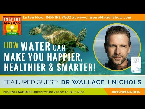 🌟 WALLACE J NICHOLS: How Water Can Make You Happier, Healthier & Smarter at Everything | Blue Mind