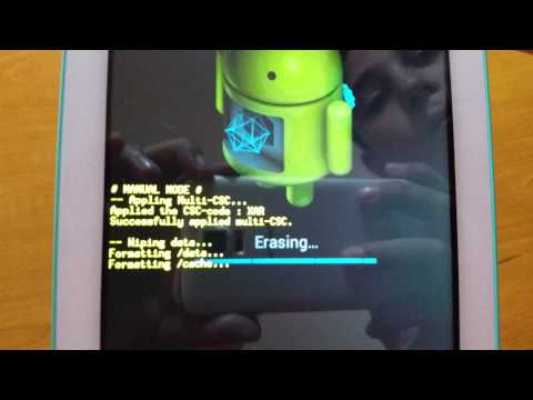 How to factory reset your Samsung Galaxy Tab 3