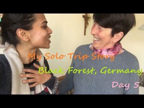 Travel Vlog | My Solo Trip Story | Black Forest,Germany | Day 5 | Freiburg & Trip back to NL