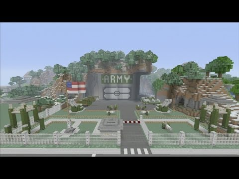 Minecraft xbox Epic Structures: SPANKLECHANK'S ARMY Base