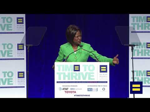Rep. Val Demings at LGBTQ 2018 Time to Thrive Youth Conference