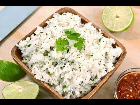 Healthy Rice Recipe - Cilantro Lime Coconut  Rice | RadaCutlery.com