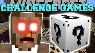 Minecraft: GRANNY CHALLENGE GAMES - Lucky Block Mod - Modded Mini-Game
