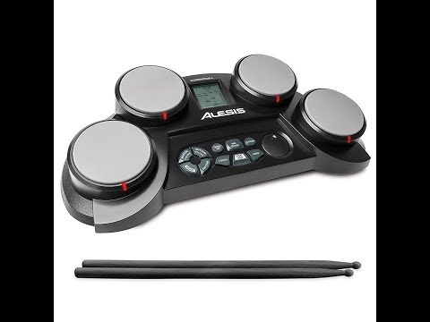 Review:  Alesis CompactKit 4 | Portable 4-Pad