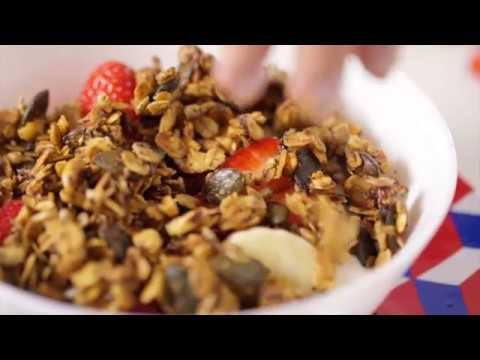 Tupperware - Homemade toasted muesli