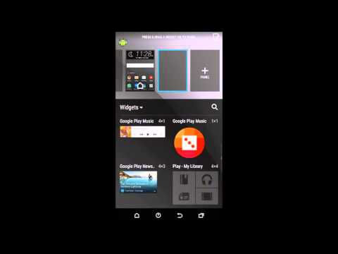 how to add or remove widgets on android phone video tutorial