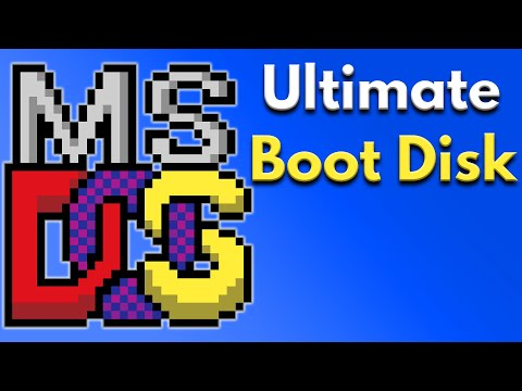 DOS PC Setup Tutorial - Replacement Boot Disk Files