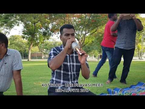 Beautiful Arabic Song Singing By Sakeer Hussain Kottoor at Zabeel Park Dubai
