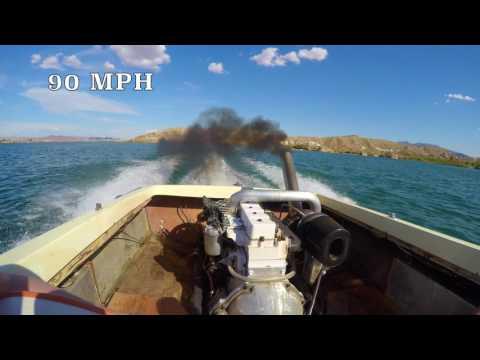 Merlon's Master Creation Cummins Speed Boat
