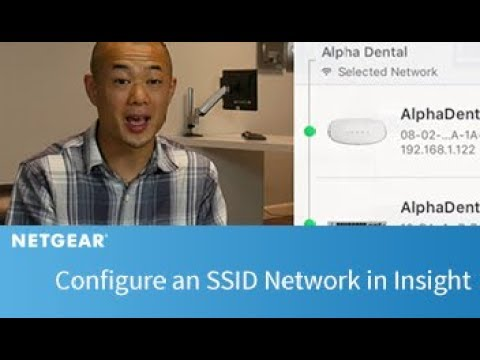 How to Configure an SSID Network | Insight
