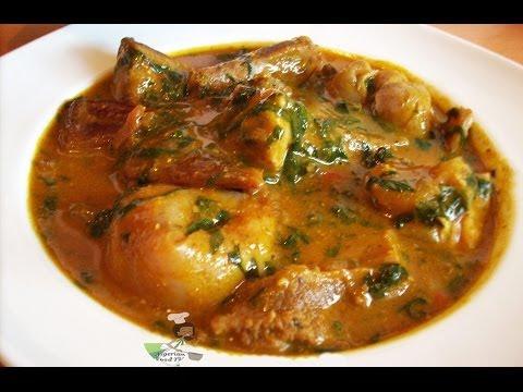 Ogbono Soup | Nigerian food recipes