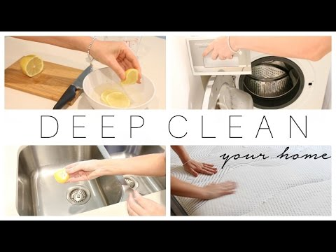 Tips for Deep Cleaning Your Home | Natural Cleaning Products