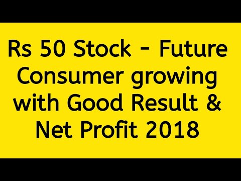 Rs 50 Stock - Future Consumer Ltd growing with Good Result & Net Profit 2018