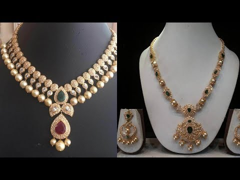 Latest Light Weight Short Necklace Designs - She Fashion