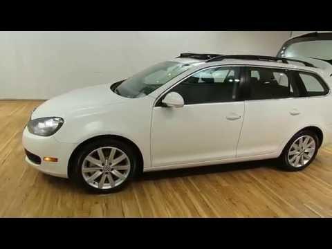 2010 Volkswagen Jetta SportWagen TDI LEATHER MEDIA SREEN PANORAMIC SUNROOF @CARVISION.COM