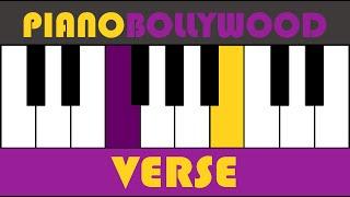 Tune Jo Na Kaha - Easy PIANO TUTORIAL - Verse [Both Hands