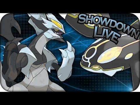 BIG BLACK KYUREM IN UBERS! - Pokemon Ultra Sun and Ultra Moon UBERS Showdown Live