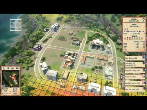 Tropico 4 - Fruity Business Walkthrough Gameplay PC