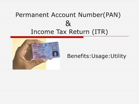 All about Permanent Account Number (PAN)