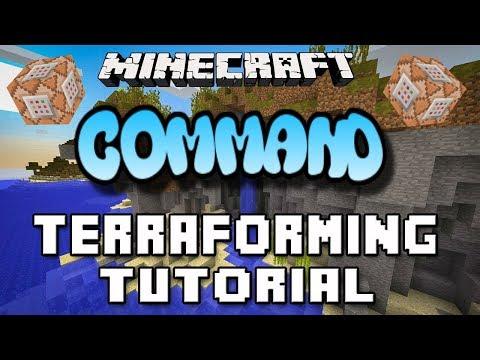 Minecraft Xbox One Command Block Terraforming Spell