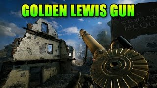 Golden Lewis Gun! Supporting With Matimi0