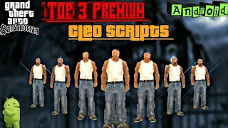 New Top 5 Cleo Scripts For Gta Sa Android | Advanced Cleo