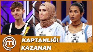 Kaptanlık Yarışını Kazanan Yarışmacı | MasterChef Türkiye 17.Bölüm