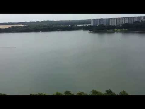 Waterfront Isle View of Bedok Reservoir from the Roof Terrace